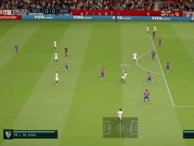FC Séville - FC Barcelone sur FIFA 20 : résumé et buts (Liga - 30e journée)