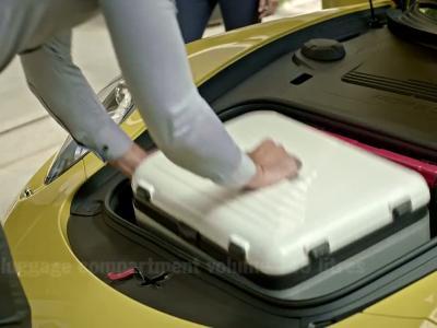 On peut ranger tout un tas de choses dans une Porsche 911