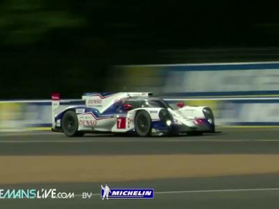 24H du Mans 2014 #1 - Confrontation Toyota/Audi/Porsche