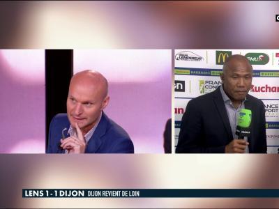Lens - Dijon (barrage aller) : la réaction d'Antoine Kombouaré après le 1-1