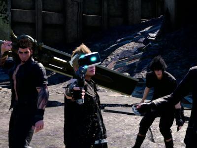 PlayStation VR : le trailer de Final Fantasy XV