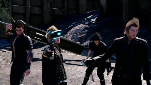 PlayStation VR : le trailer de Final Fantasy XV
