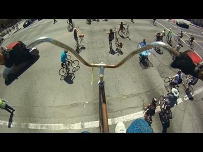 Du vélo perché à 5 mètres !