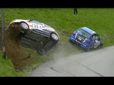 Un impressionnant double crash au rallye du Beaufortain