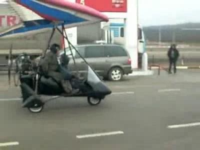 Mieux que la voiture volante, l'avion roulant