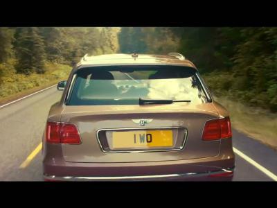 Le Bentley Bentayga se dévoile dans sa version définitive