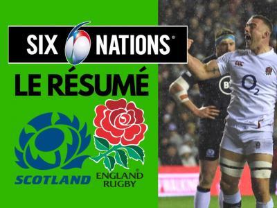Écosse - Angleterre : résumé et essais du match en vidéo