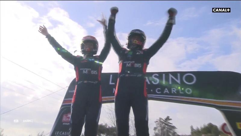 Thierry Neuville gagne à Monte-Carlo, Ogier frustré
