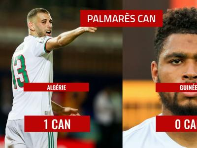 Algérie - Guinée : le 8e de finale de la CAN 2019 en chiffres
