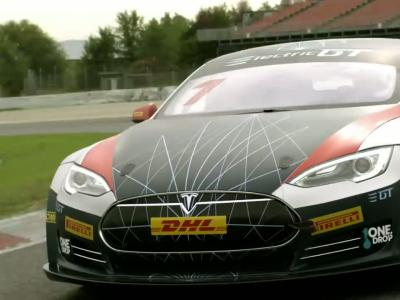 Electric GT : la Tesla Model S de course se met à nu