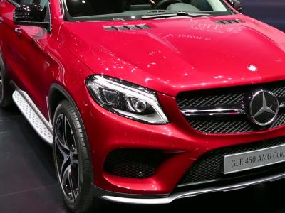 Genève 2015 | Mercedes GLE Coupé