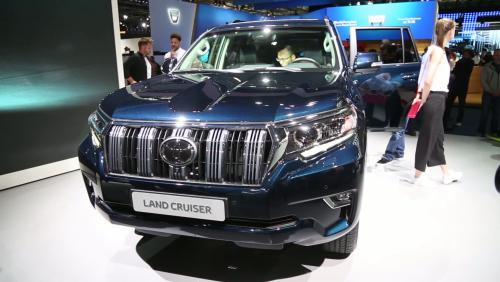 Francfort 2017 : Toyota Land Cruiser