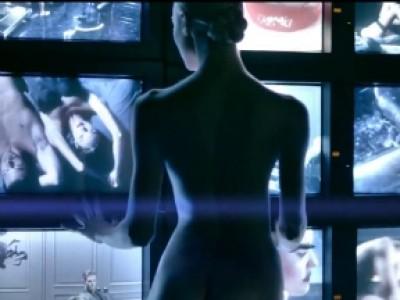 Candice Swanepoel nue, interdite aux USA