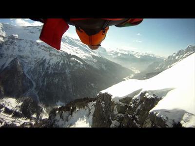 Maël Baguet au ras des montagnes