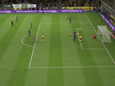 FC Sochaux - Chamois Niortais FC sur FIFA 20 : résumé et buts (L2 - 31e journée)