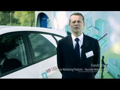 Les premières Hyundai à Hydrogène ont été livrées