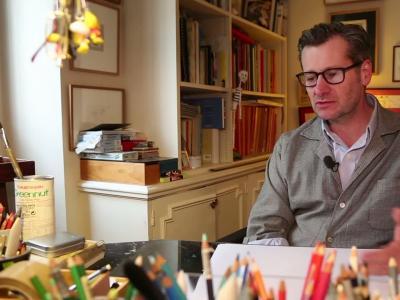 Culturetainment [S07E19] François Avril, l'élégance à la limite de l'abstraction
