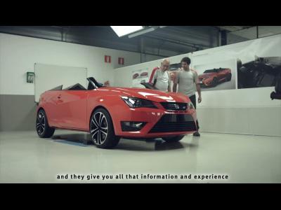 Retour sur la réalisation de la Seat Cupster en vidéo