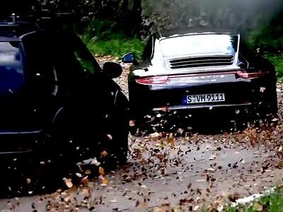 Le making of du film Porsche 911 Carrera 4