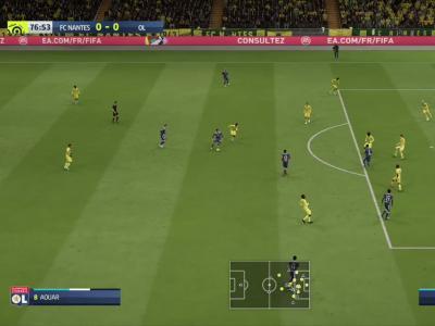 FC Nantes - OL sur FIFA 20 : résumé et buts (L1 - 32e journée)