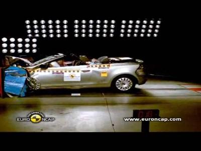 Crash test : Volkswagen Golf cabriolet
