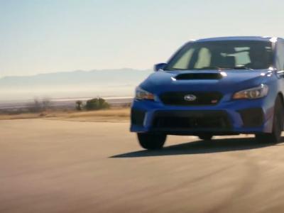 Une pub digne de Fast & Furious pour la Subaru WRX STI 2018