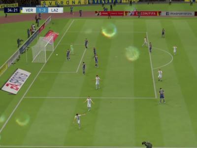 Hellas Verona FC - Lazio Rome sur FIFA 20 : résumé et buts (Serie A - 36e journée)
