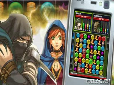 Puzzle Quest sur mobile