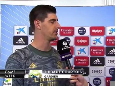 """Courtois : """"Le match qu'on méritait de gagner"""""""