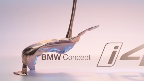 BMW Concept i4 : preview vidéo du Coupé 4 portes