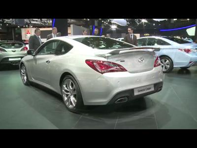 Hyundai Genesis Coupé - Mondial 2012