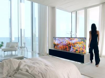LG Signature OLED R : l'écran TV enroulable