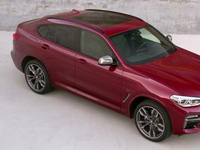 BMW X4: copie corrigée
