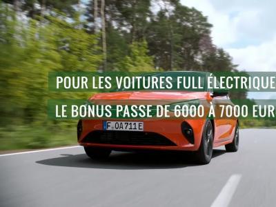 Nouveau bonus écologique : les détails pour les véhicules 100% électriques
