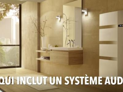 Sensium : sèche-serviette connecté et audio HD