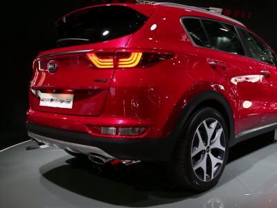 Francfort 2015 : Kia Sportage