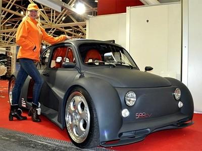 Des anciennes Fiat 500 sous stéroïdes