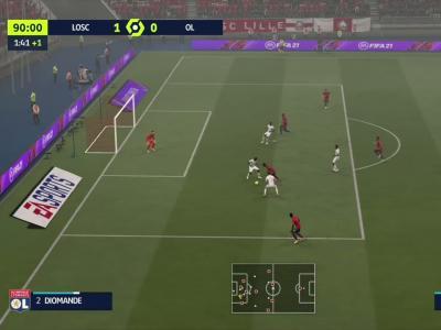 LOSC - OL : notre simulation FIFA 21 (L1 - 9e journée)