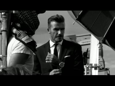 David Beckham ambassadeur de Breitling for Bentley