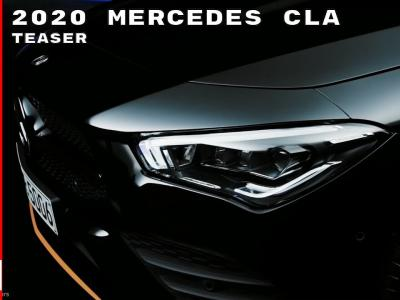Mercedes CLA : le teaser officiel du coupé 4 portes