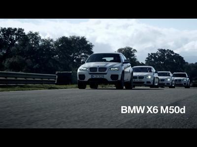 La nouvelle gamme BMW M diesel 2012