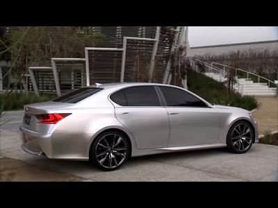 Shanghai 2011 : Lexus LF-Gh Hybrid Concept