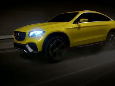 Le Mercedes GLC Coupé Concept se dévoile