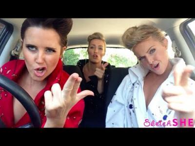 Les 3 chanteuses au volant sont de retour avec un super medley