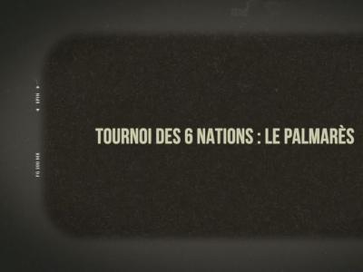 Tournoi des 6 Nations : le palmarès complet
