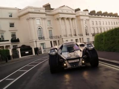 La Batmobile s'invite au Gumball 3000