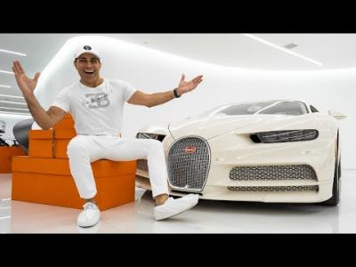 Manny Khoshbin nous dit tout sur sa Bugatti Chiron Hermes