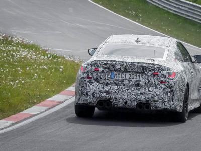 La future BMW M4 (2021) en vidéo sur le Nürburgring