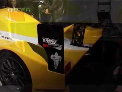 Le nouveau prototype fonctionnant aux biocarburants