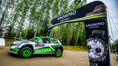 Anonimo Team Spirit : Anonimo en WRC